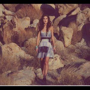 Free People New Romantics Hanalee Patchwork Dress